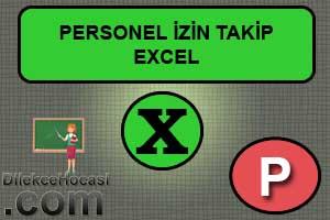 personel izin takip programı excel ücretsiz indir