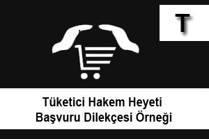 Tüketici heyeti başvuru dilekçesi